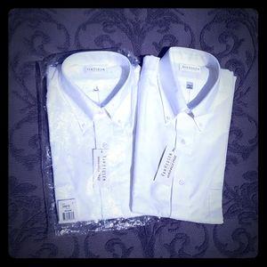 Van Huesen Men's Short Sleeve Dress Shirts